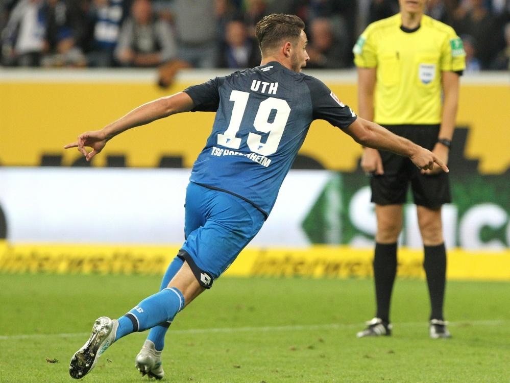 Mark Uth hat gegen Mainz immer wieder Spaß