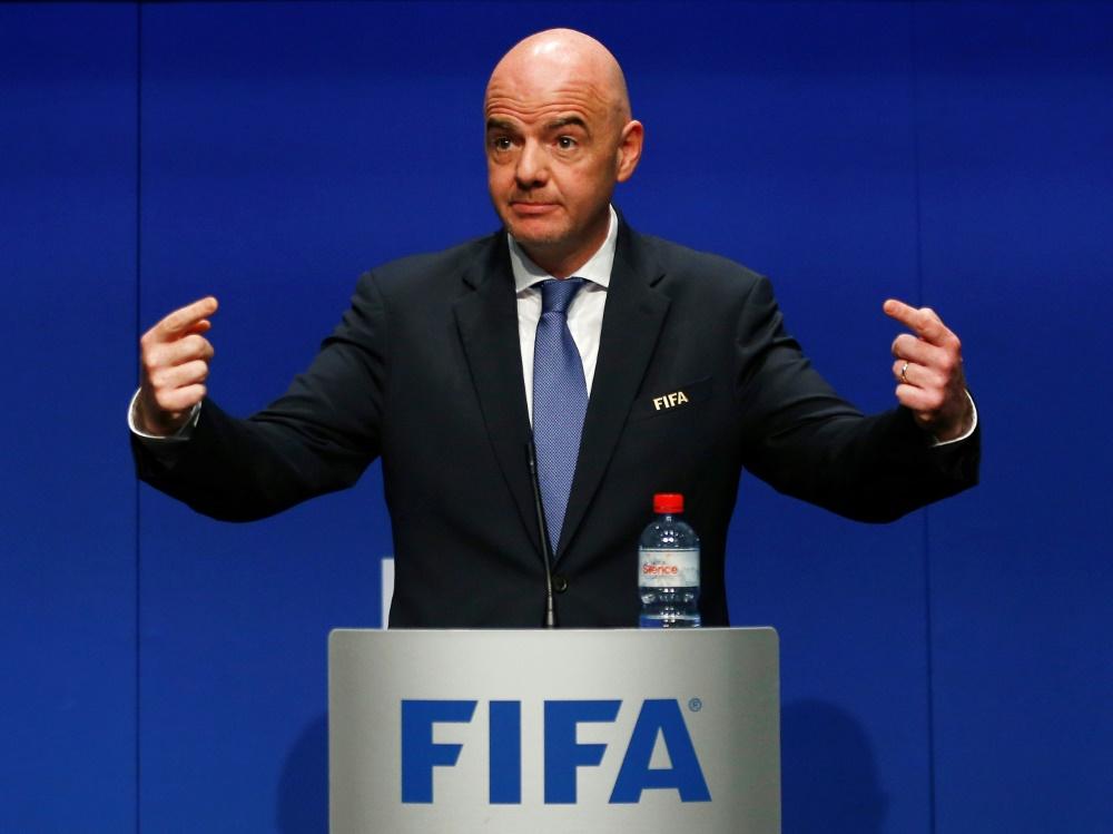 Die FIFA sanktioniert weder Israel noch Palästina