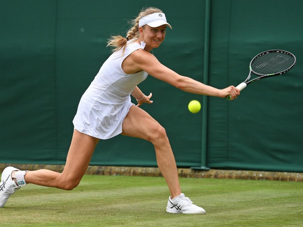 Barthel scheiterte in der ersten Runde an Maria Sakkari