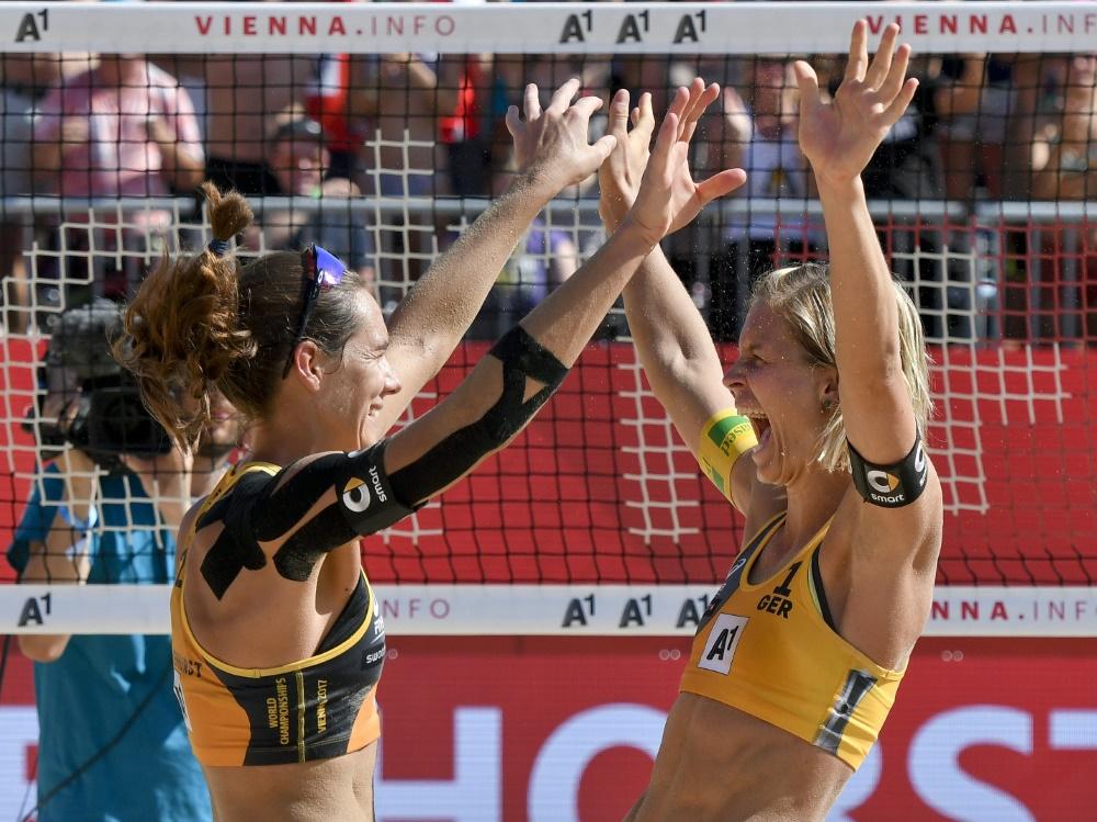 Ludwig/Walkenhorst gewinnen World-Tour im Beachvolleyball