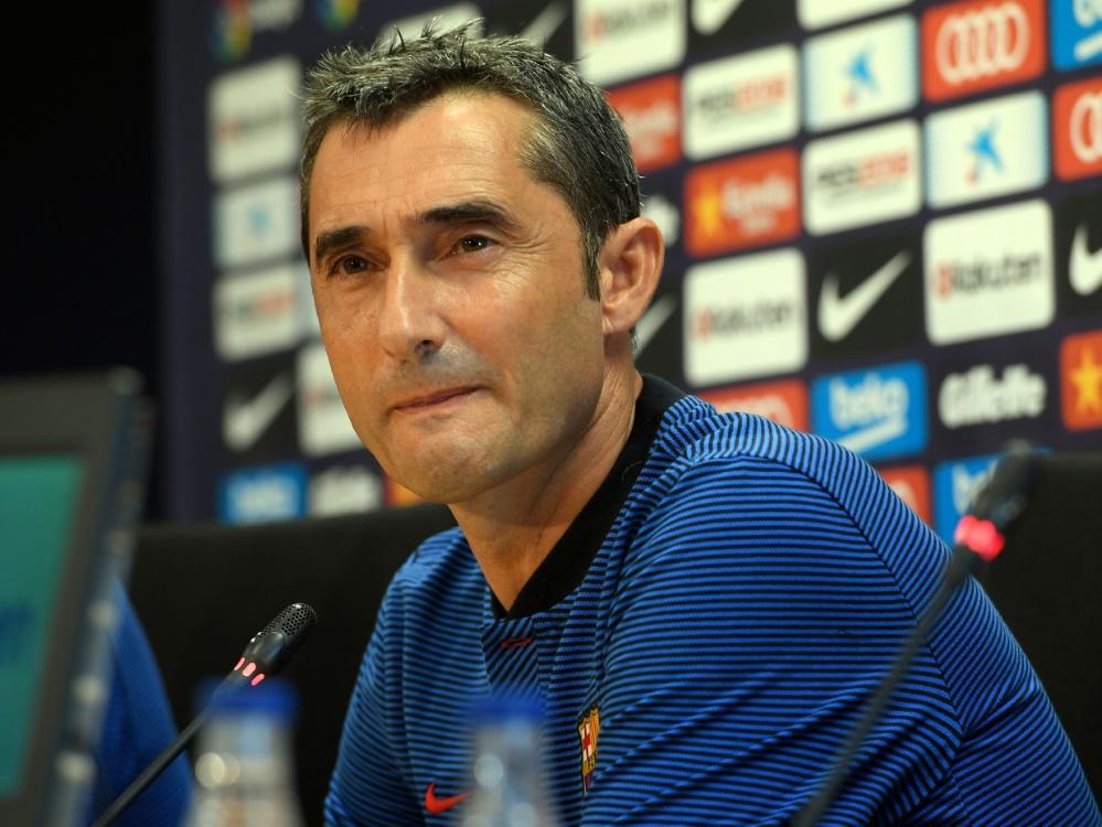 Ernesto Valverde legt keinen Wert auf neue Stars