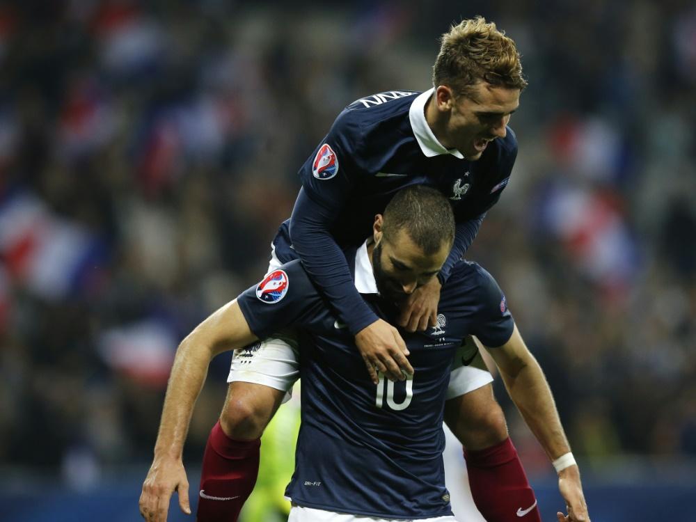 Frankreich feiert einen ungefährdeten Testspielsieg