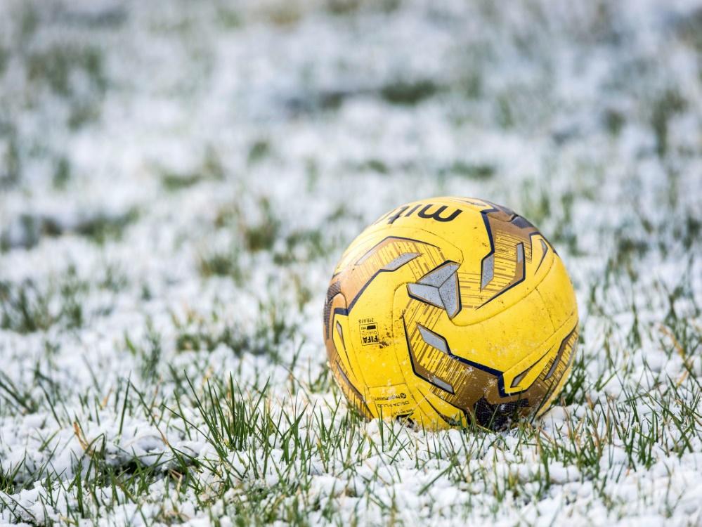 Witterungsbedingt mussten mehrere Pokalspiele abgesagt werden