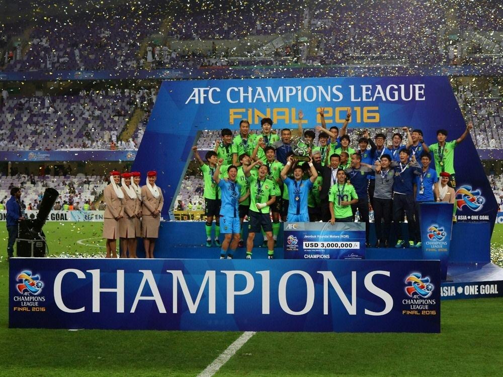 Jeonbuk FC ist amtierender asiatischer CL-Sieger
