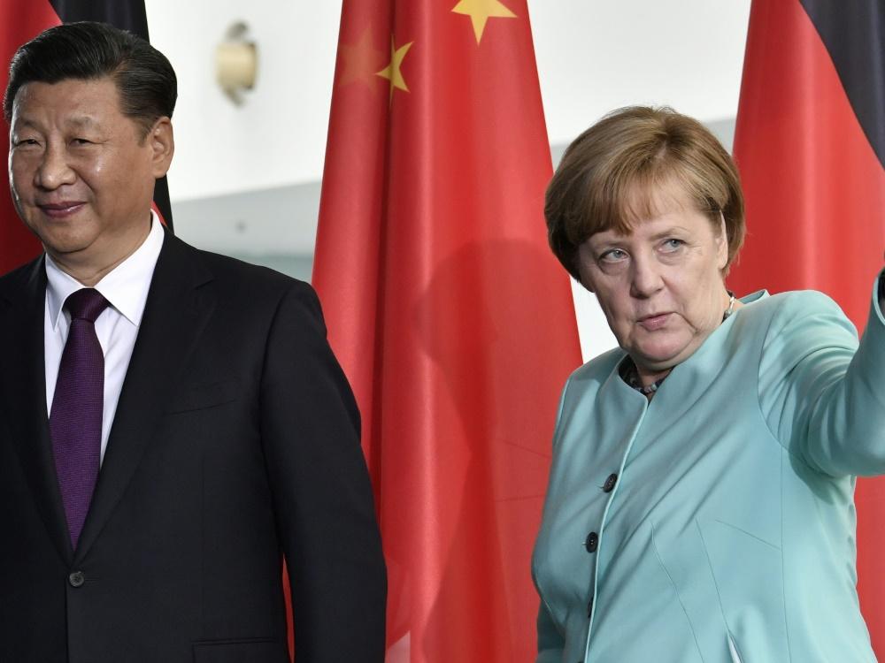 Vor G20-Gipfel | Merkel empfängt Chinas Präsident Xi Jinping