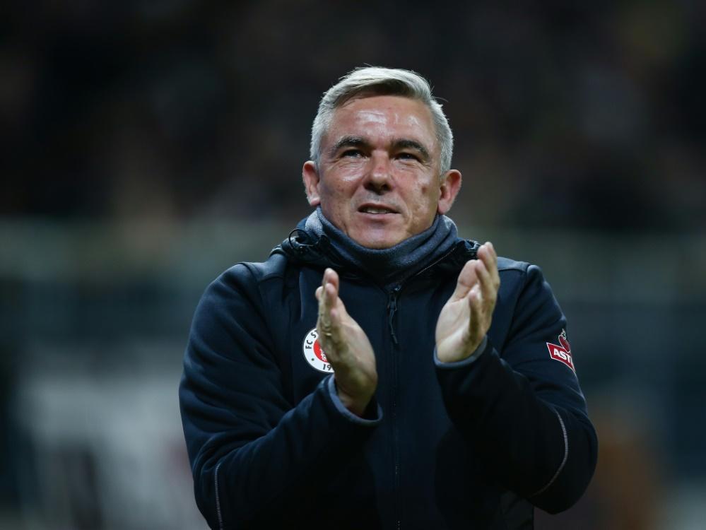 FC St. Pauli: Markus Kauczinski wohl neuer Trainer