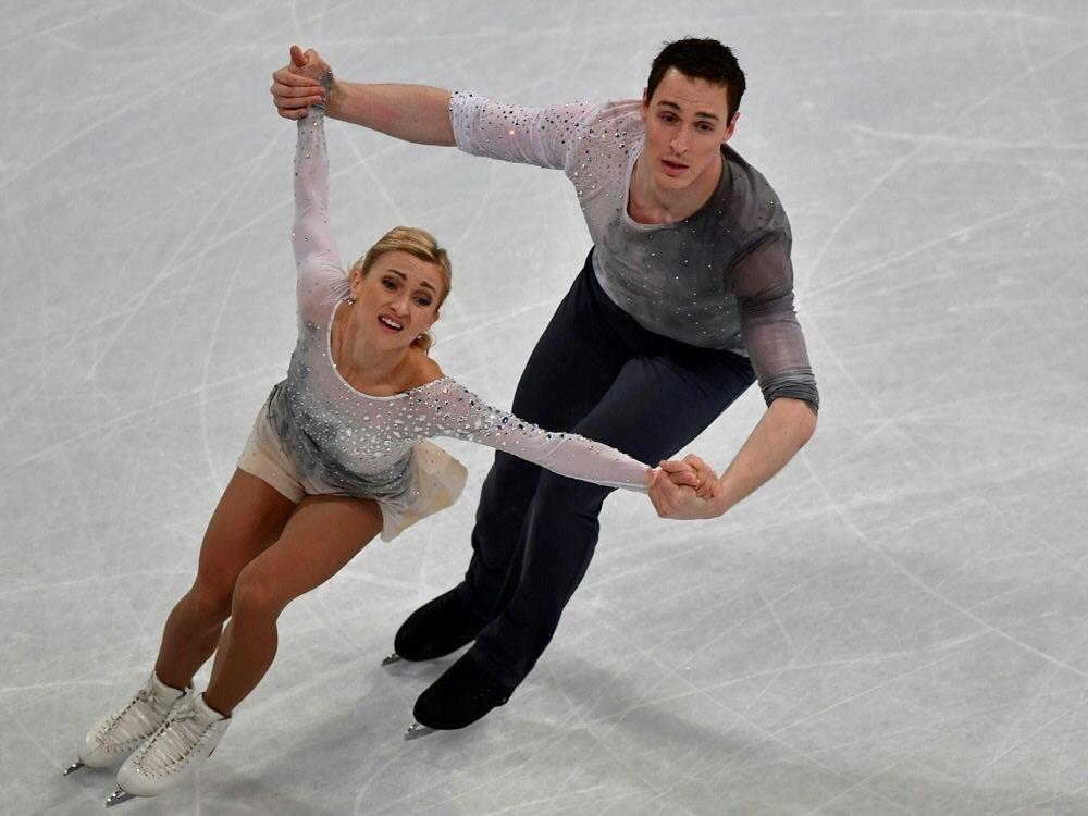 Aliona Savchenko und Bruno Massot streben nach Gold