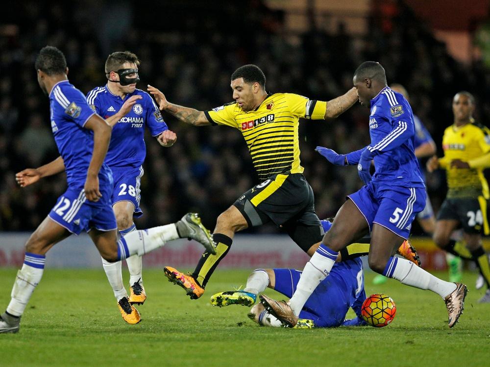 Chelsea kommt in Watford nicht über ein 0:0 hinaus