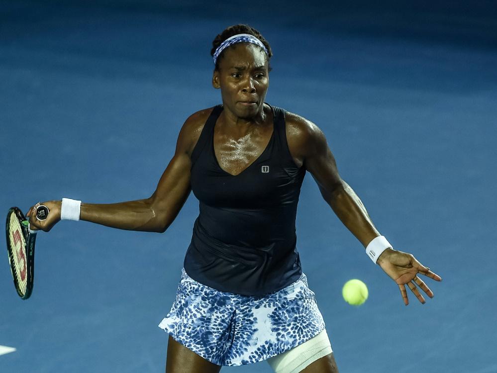 Venus Williams steht in Zhuhai im Finale