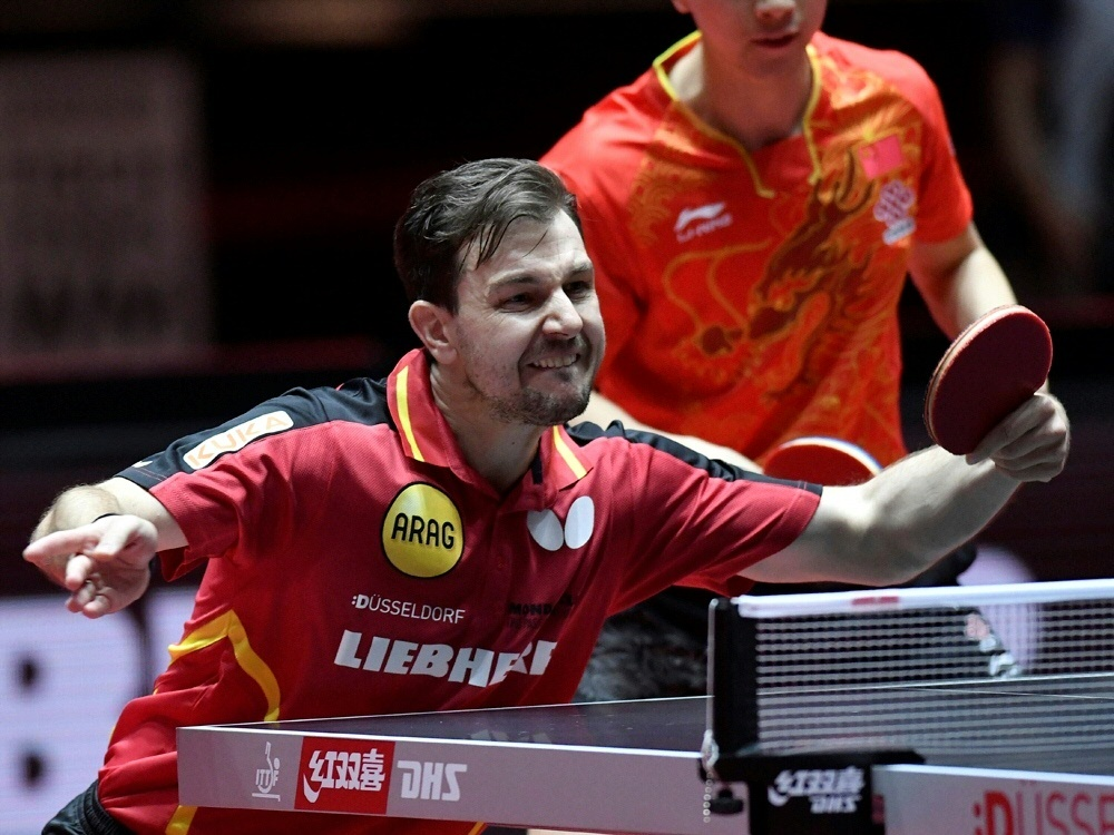 Tischtennis: Ovtcharov schlägt Boll, China-Stars sorgen für Eklat