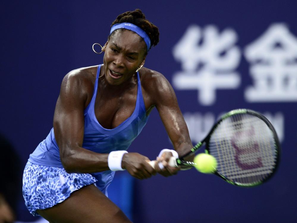 Venus Williams gewinnt Turnier in Zhuhai
