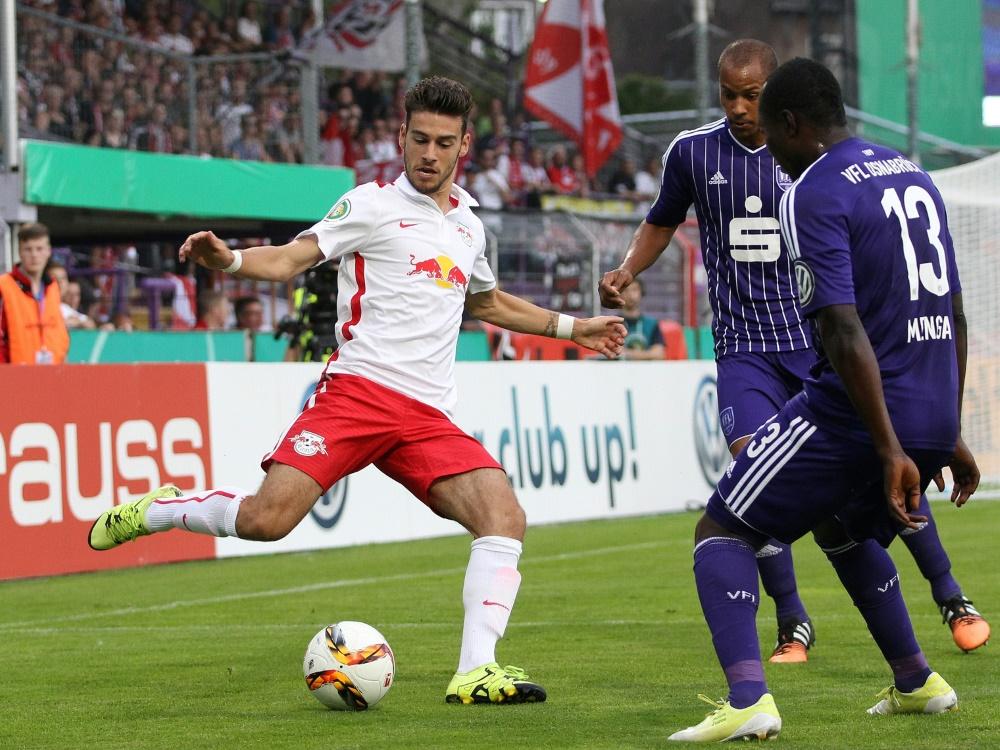 Bruno (li.) bleibt ein weiteres Jahr in Anderlecht