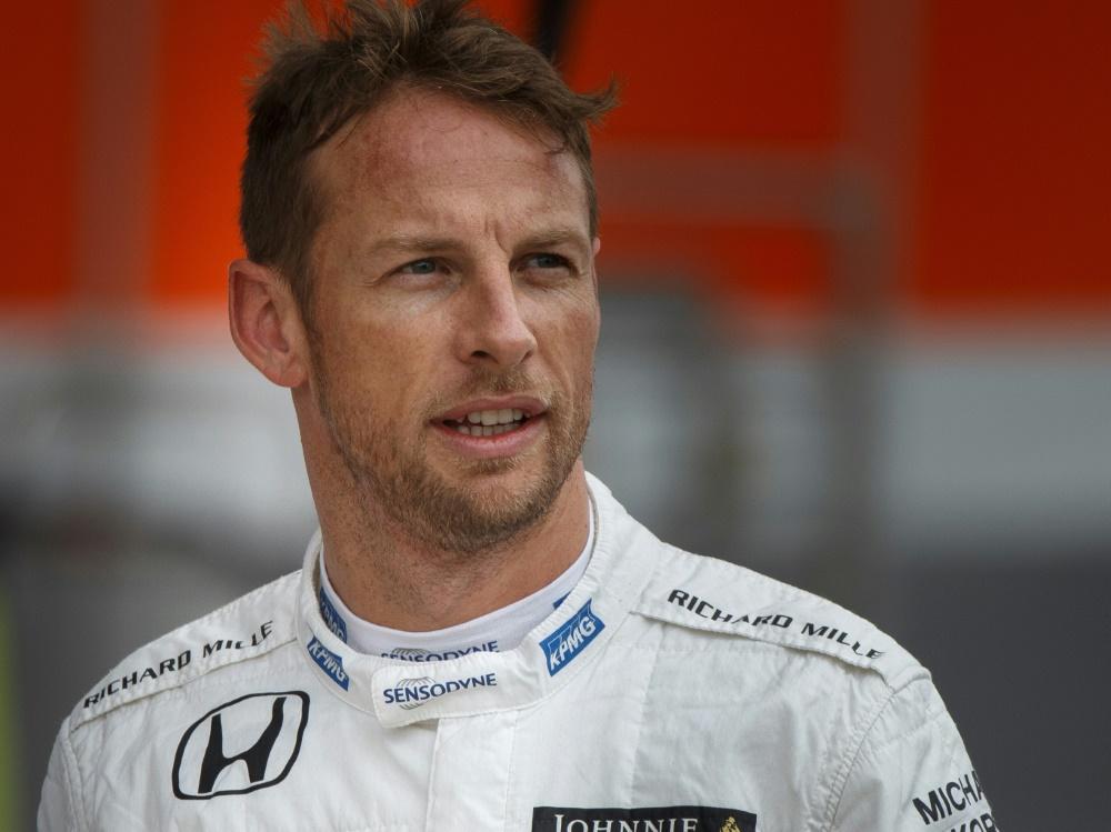 Ist vor seinem Kurz-Comeback entspannt: Jenson Button