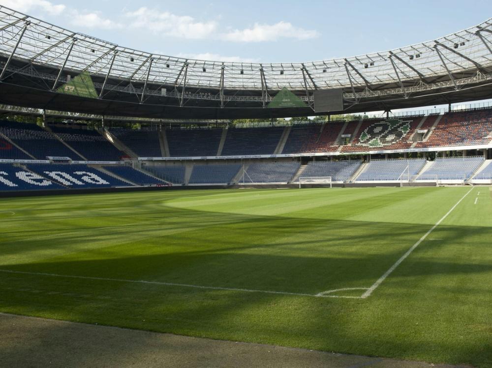 Spielort des Spitzenspiels: Die HDI-Arena in Hannover
