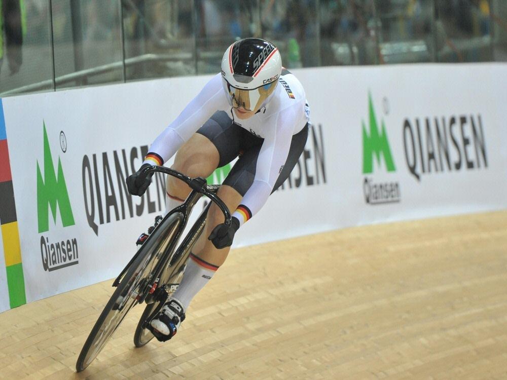 Kristina Vogel dominiert Bahnrad-Meisterschaften