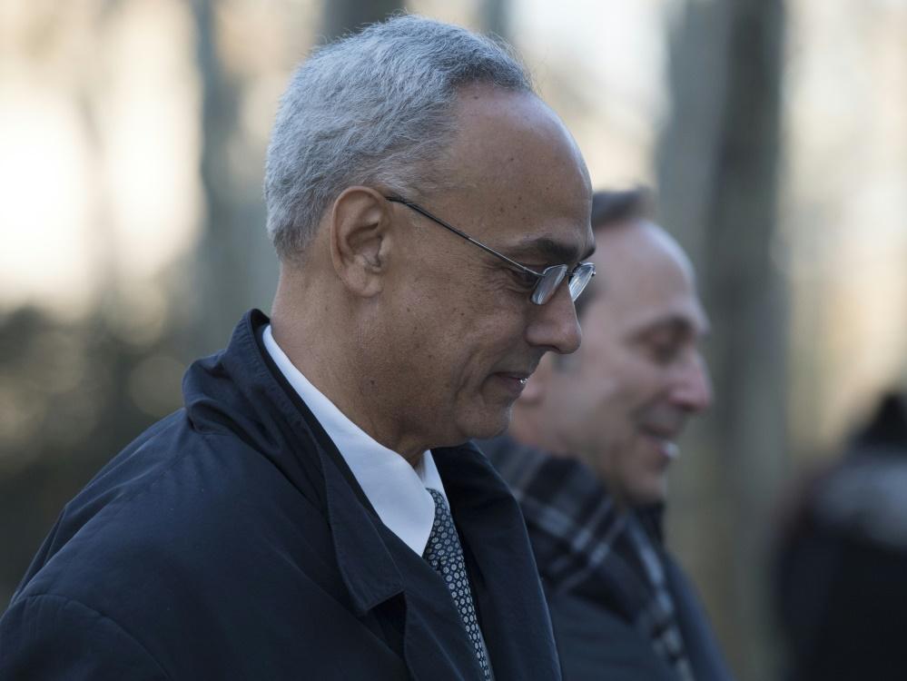 Einer der Angeklagten: Manuel Burga