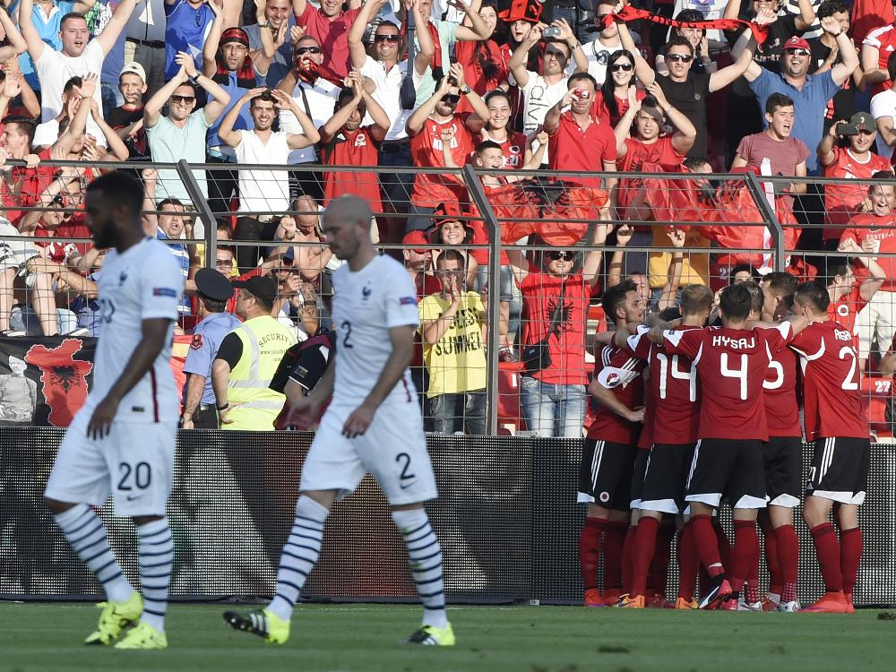 albanien gegen frankreich