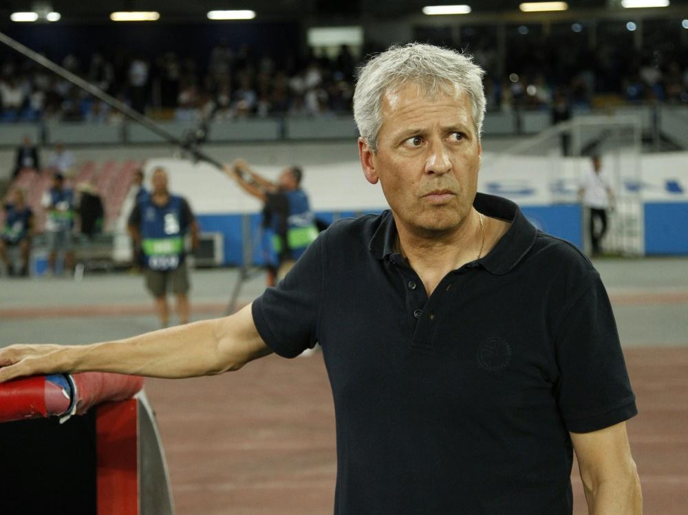 Lucien Favre verliert mit Nizza gegen Neapel