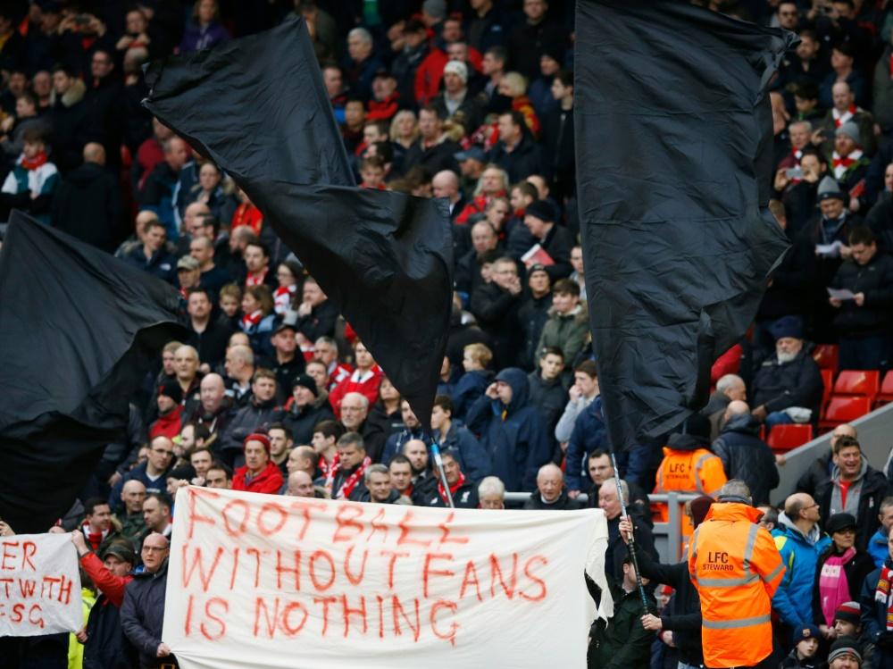 Kartenpreise: Liverpool-Fans protestieren