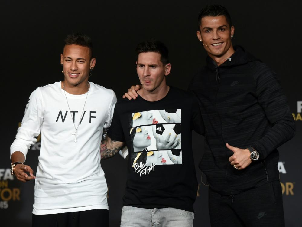 Trio für Weltfußballer-Wahl ist bekannt