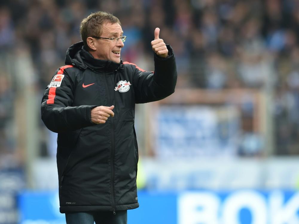 Rangnick und Leipzig haben die Tabellenführung ausgebaut