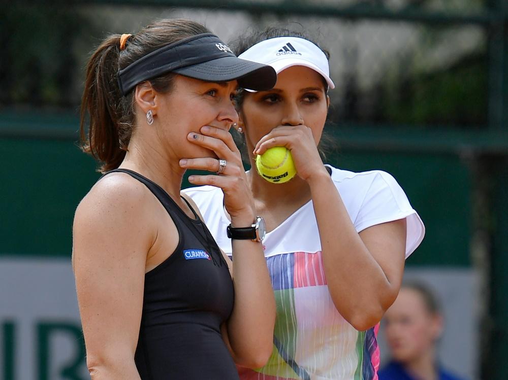 Martina Hingis und Sania Mirza gehen getrennte Wege