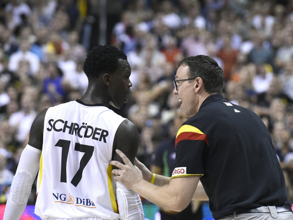 Schröder glaubt an Titel mit der Nationalmannschaft