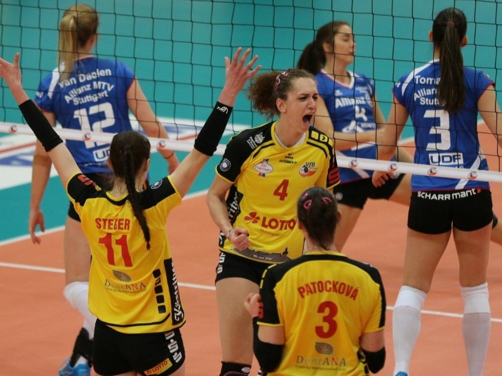 Volleyball - Bundesliga: Volleyball: Suhl bleibt erstklassig
