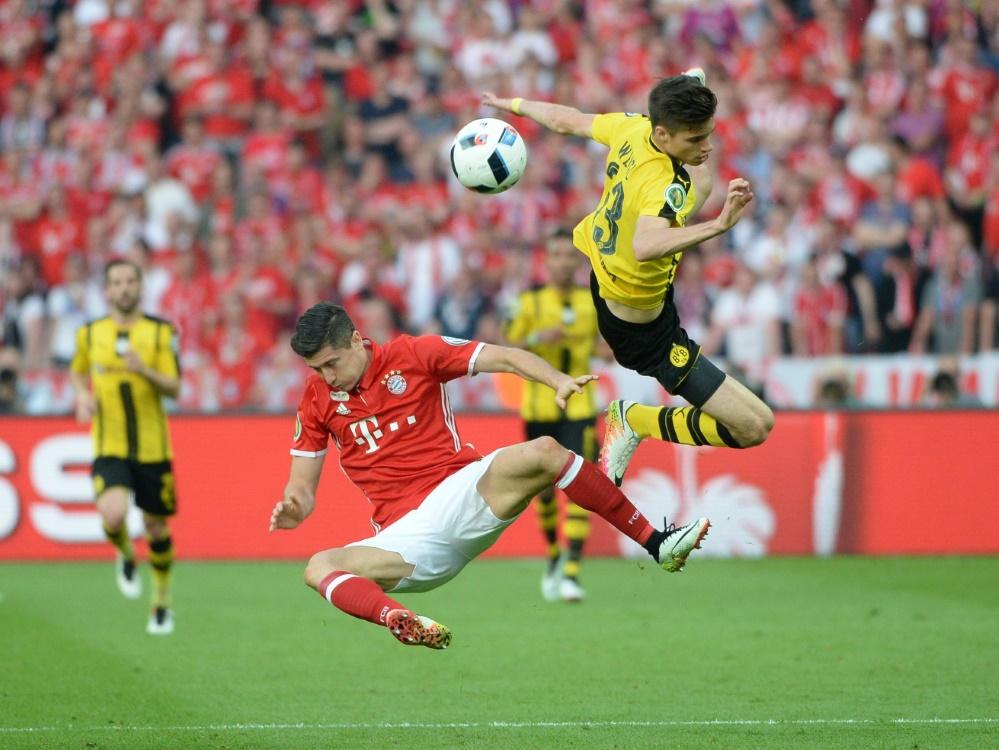 Bayern empfängt Dortmund am 26. April