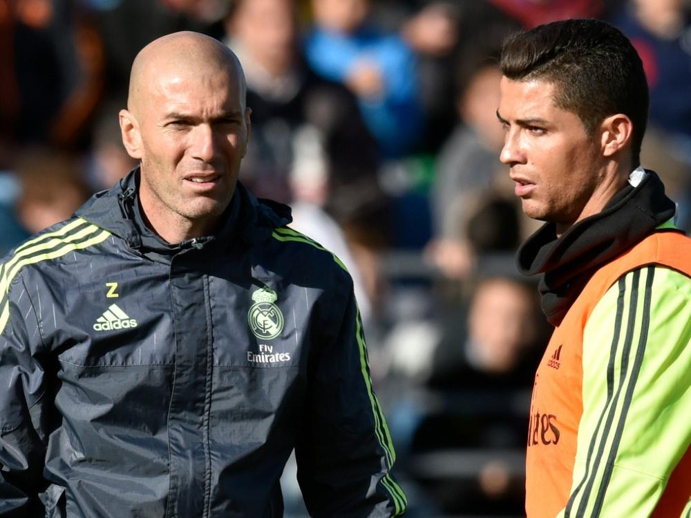 Zinedine Zidane: Grünes Licht für Cristiano Ronaldo