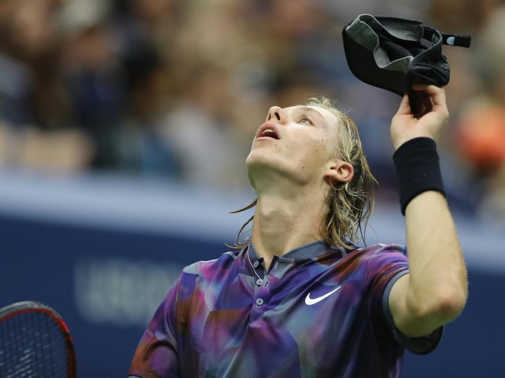 Spanier Carreno Busta erster Halbfinalist der US Open