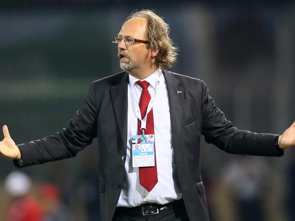 Tom Saintfiet wird neuer Nationaltrainer Togos