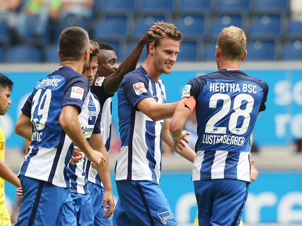 Hertha BSC gewinnt das Blitzturnier in Duisburg