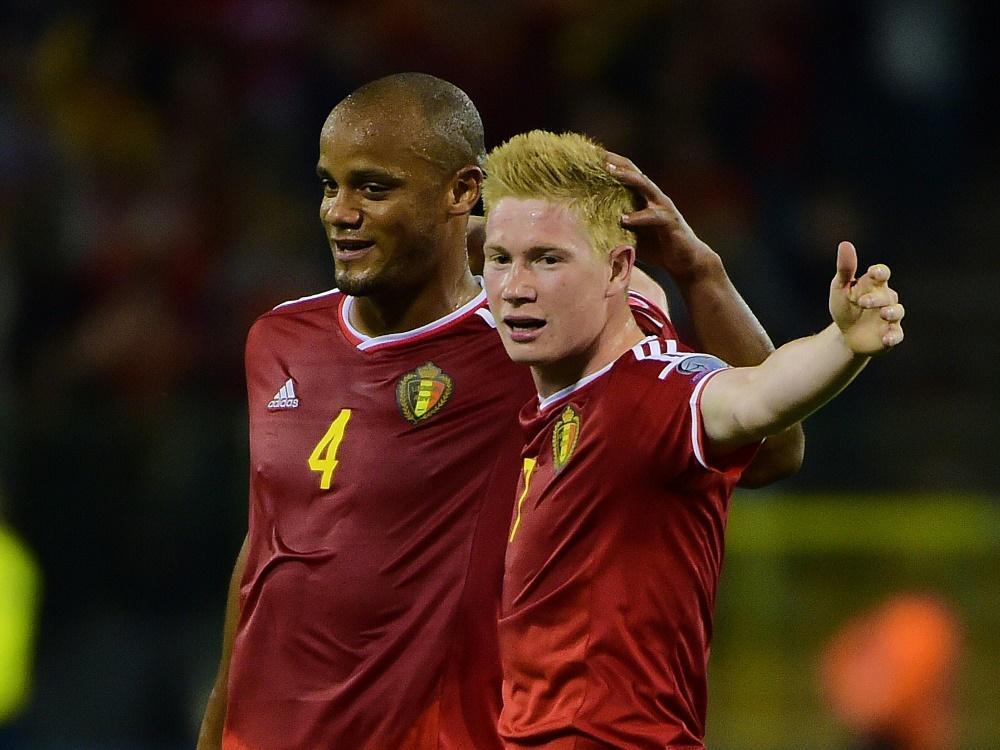 Kevin De Bruyne führte Belgien zum Sieg
