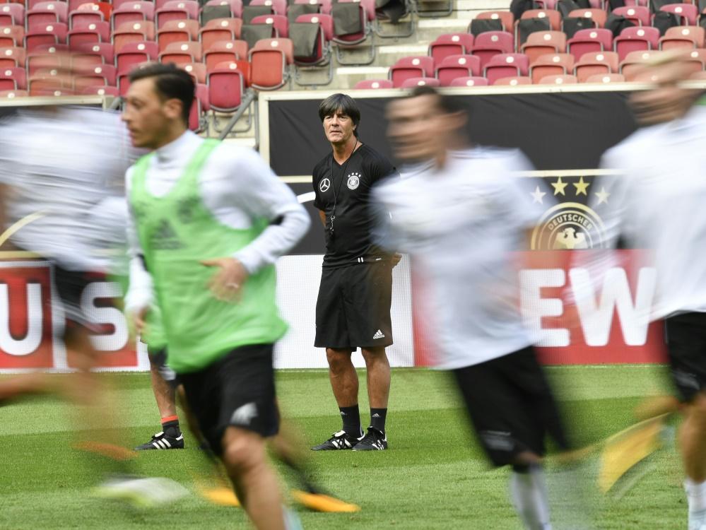Joachim Löw und sein Team werden sich offenbar erneut in Tirol auf die WM vorbereiten