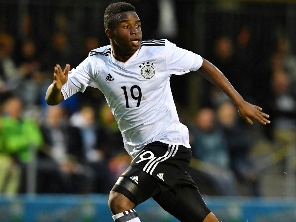 Youssoufa Moukoko war zweifacher Torschütze für Deutschland