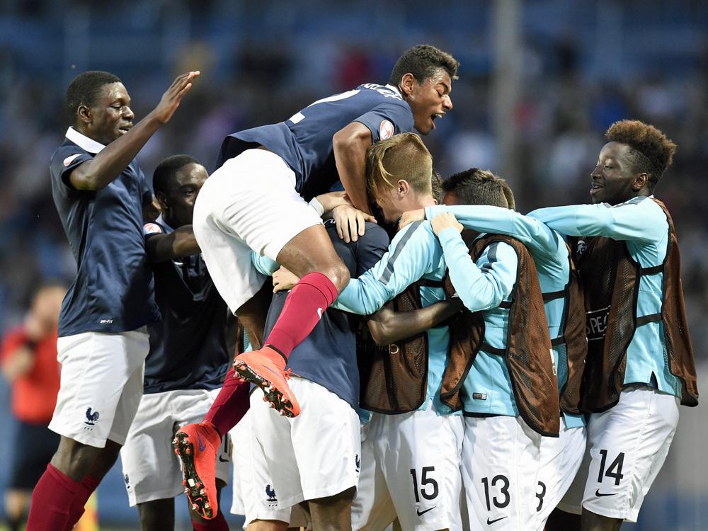 Frankreichs U17 feiert Edouard und den EM-Titel