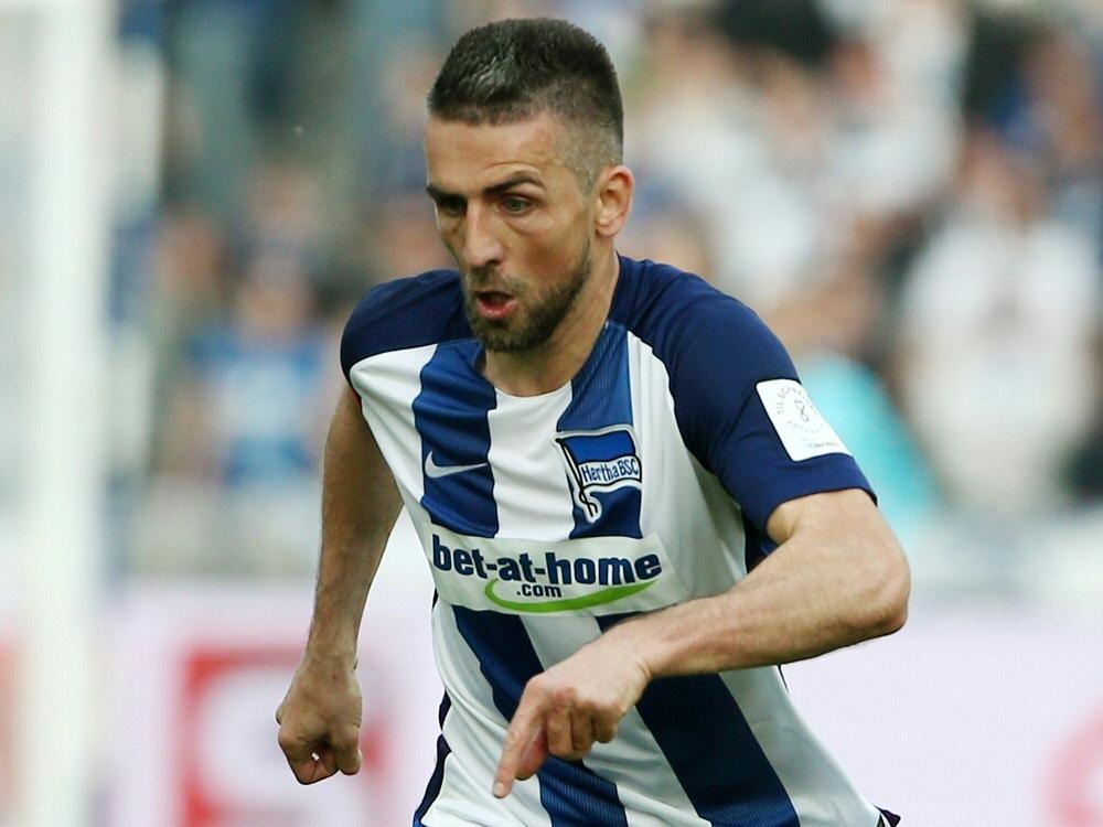 Vedad Ibišević erzielte einen der fünf Hertha-Treffer