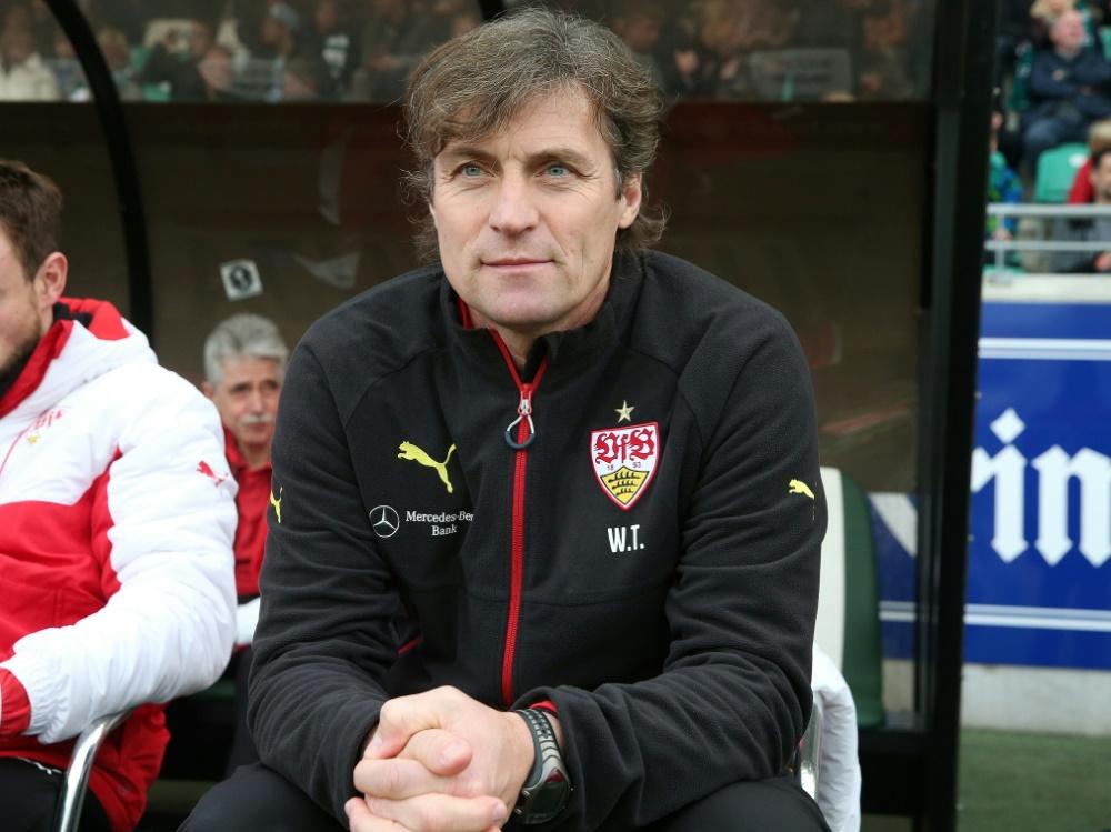 Thomae (r.) übernimmt den VfB II von Sebastian Gunkel