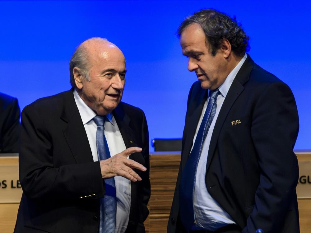 Ethikkommission suspendiert Blatter und Platini