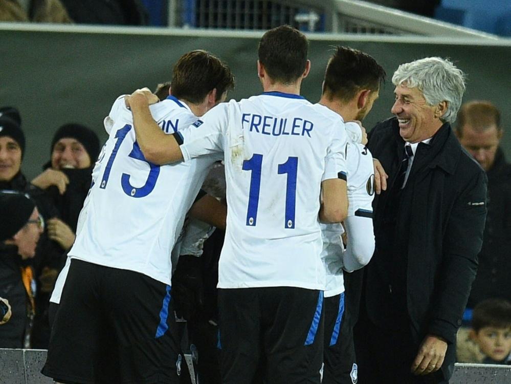 Atalanta Bergamo gewinnt mit 2:1 beim CFC Genua