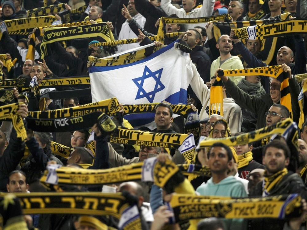 Rechte Fans von Beitar Jerusalem festgenommen