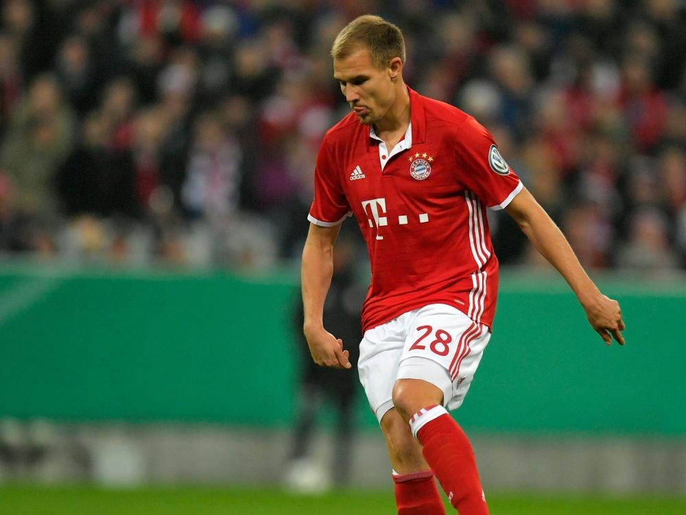 Holger Badstuber zeigt in der Regionalliga eine gute Leistung
