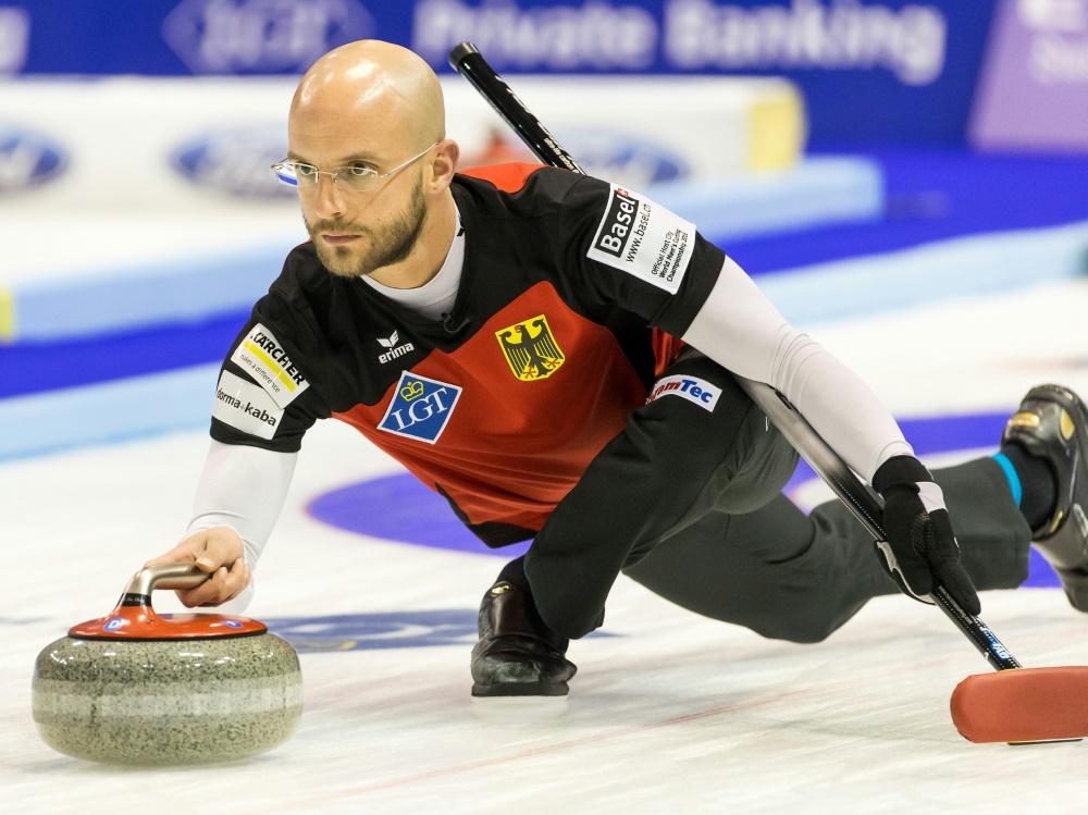 Alexander Baumann verliert mit seinem Team gegen Italien