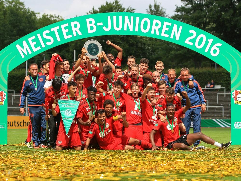 Bayer Leverkusen ist neuer B-Junioren-Meister
