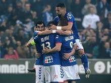 Zurück in der Ligue 1: Jubel bei Racing Straßburg