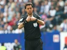 Gräfe leitete die Partie zwischen Hamburg und Wolfsburg