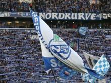 Schalker Fans besuchen Abschlusstraining vor dem Derby
