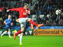 Rooney erzielte gegen Estland den Siegtreffer
