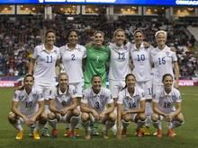 Die Amerikanerinnen werden an der WM-Endrunde teilnehmen